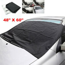 New Windshield Snow Sun Cover Tarp Ice Scraper Frost Removal Car Truck Van SUV