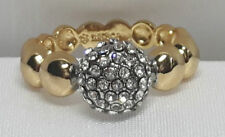 Markenlose Ringe ohne Steine aus echtem Edelmetall 56 für Damen (7 mm Ø)