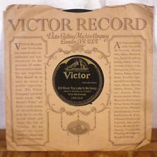 1920's Harry Macdonough It's Never Too Late To be Sorry / Henry Burr 78 Victor E