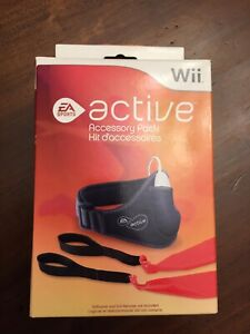 Nintendo Wii Active Accessory Pack Leg Strap Resistance Band New Sealed