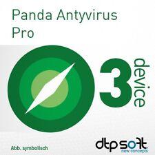 Panda AntiVirus / Dome Essential PRO 2019 3 PC 1 Year License PC MAC 2018 UK