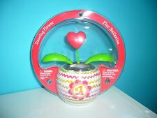 NEW CUTE Mother's Day #1 MOM Solar Dancing Heart Flower