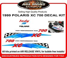 1999 POLARIS INDY XC 700 REPRODUCTION DECAL KIT , shroud  graphic