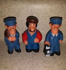 Postman Pat figurines Ted Glen vtg toy figures 1984 Woodland Animations BBC TV