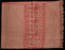Indian Kashmir - Kashmiri Handmade Pashmina Cashmere Shawl/Stole With Embroidery