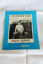 """Hugues Aufray Partition """" L'épervier"""""""