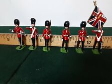 Ducal Toy Soldiers Colour Party The Welsh Guards by J. Duke 6 + 1Pieces