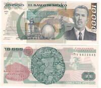 MEXICO 10000 Pesos (1987) P-90a UNC Banknote Paper Money