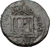 GORDIAN III 238AD Ancient Roman Coin Hadrianopolis  SERAPIS Cult TEMPLE  i22245