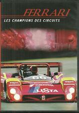 27403 // FERRARI LES CHAMPIONS DES CIRCUITS DOCUMENTAIRE NEUF