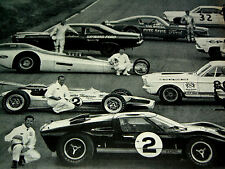 1966-1967 FORD SHELBY COBRA 427/289-MUSTANG GT GT500-GT40/350/FAIRLANE RACE CAR