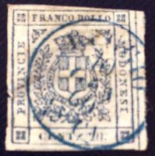 Italie Modene N°9 20 C Lilas Signe Calves Obli Fente Et Pelurage Côté 450€