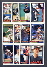 1992 Topps Minnesota Twins TEAM SET w/Traded