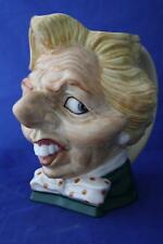 KEVIN FRANCIS LARGE SPITTING IMAGE MARGARET THATCHER LTD. ED. 18/100 JUG NEW