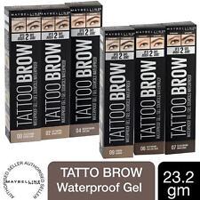 Maybelline Tattoo Brow Longlasting Waterproof Eyebrow Gel, Choose Your Shade