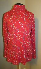 Christmas lights Holiday string lights turtle neck top long sleeve lg 12/14 new