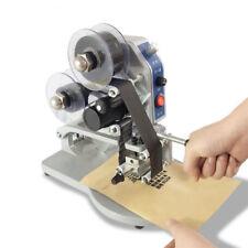 Manual  Hot Foil Stamping Printer Thermal 220V Ribbon Date Code printing Machine