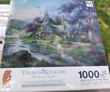 Thomas Kinkade jigsaw puzzles 1000 piece Clocktower Cottage Beautiful Puzzle