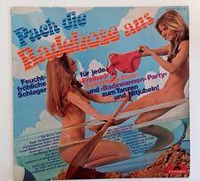 Sexy nude cheesecake Cover, Vinyl LP, Pack die Badehose aus