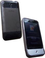 Housse semi rigide noire mat pour HTC Legend