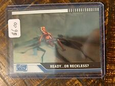 2008 Topps Star Wars Clone Wars Parallel Foil Card #35 003/205