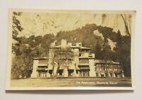 Vintage RPPC Postcard Real Photo - The Ahwanee, Yosemite California