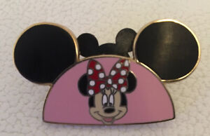 Disney Trading Pin 2008 Minnie Mouse Ears Limited Edition Of 1500