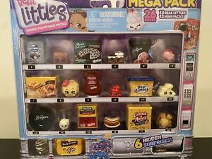 Shopkins Real Littles Mega Pack 13 Real Littles + 13 Mini Packs AS SHOWN IN PIC