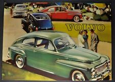 1959 Volvo PV 544 Sales Brochure Sheet Nice Original 59