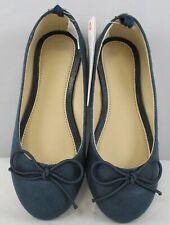 Gymboree Girls Navy Blue Ballet Flats Size 11
