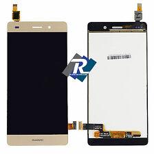 TOUCH SCREEN VETRO LCD DISPLAY Per Huawei Ascend P8 Lite ALE-L21 Gold Oro