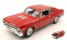 Chevrolet Nova SS Coupe' 1970 Red 1:18 Model MAISTO