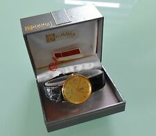ROAMER ~ MEN'S 9ct/9k SOLID GOLD WATCH ~ WITH ORIGINAL BOX
