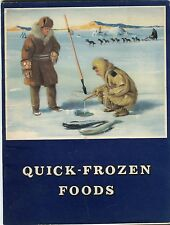 Quick Frozen Foods by Robert Sinclair: Paperback 1956