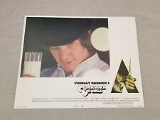 CLOCKWORK ORANGE STANLEY KUBRICK MALCOLM MCDOWELL P MAGEE -ORIGINAL LOBBY CARD