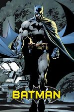 BATMAN ~ HUSH ANGRY 24x36 COMIC ART POSTER DC Jim Lee NEW/ROLLED!