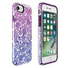 Speck iPhone 7 Presidio Inked Watercolor Floral Purple Glossy/Acai Purple + SP
