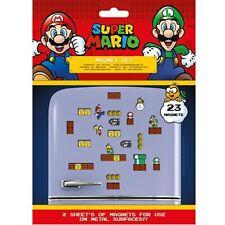 Super Mario - Fridge Magnet Set