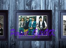 MUMFORD AND SONS SIGNED FRAMED & MOUNTED 10x8 REPRO PHOTO PRINT