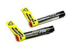 2x Turnigy Nano-Tech 200mAh 1s 15c Round Lipo Battery - Free Postage