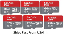 Sandisk Ultra Micro Sd Card Memory Card 16GB 32GB 64GB Mobile Card Adapter lot