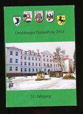 Ostpreussen Ortelsburger Heimatbote 2014  51. Jahrgang Passenheim Willenberg