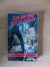 FLEUVE NOIR SPECIAL POLICE N°  194 :  SAN-ANTONIO MET LE PAQUET
