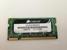 Corsair Memory — 1GB DDR2 SODIMM Memory (VS1GSDS800D2)