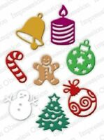 Christmas Icons Steel Die by Impression Obsession