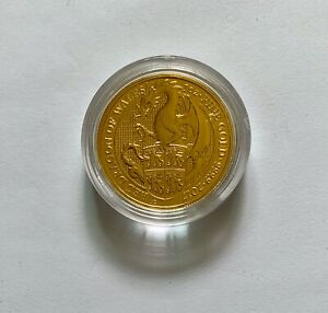 The Queen's Beasts 2017 The Dragon 1 oz Gold Bullion Coin (24 Carat)