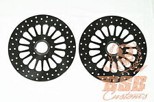 "ADN Fat spoke Disques de frein 11,5"" avant Harley Dyna FXDF (DBO customs)"