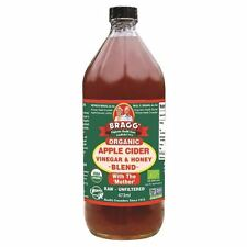 Bragg Organic Apple Cider Vinegar & Honey Blend 473ml (Pack of 3)