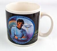 "1991 Vintage Star Trek"" Mr. Spock"" Coffee Mug by Hamilton Gifts"