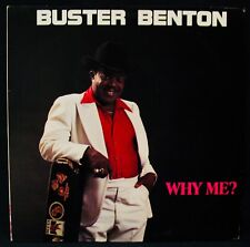 BUSTER BENTON-Why Me? Blues Soul Album●ICHIBAN #ICH 1023